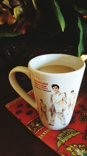 Morningwithcoffee Withelvis Check This Out That's Me Cheese! Eye4photography  Riseandshine Hello World Starting A Good Day