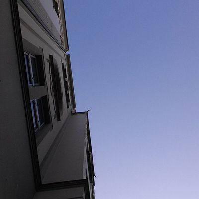 Blauer Himmel Nofilter
