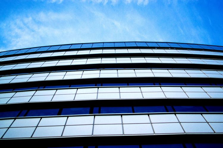 Architecture Built Structure Blue Sky City Window Glass - Material Building Modern First Eyeem Photo