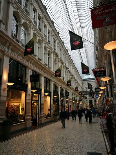 Architecture Shopping Mall Illuminated Galleries Dutch Cities City People Architecture Geometric Structures Built Structure