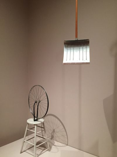 Duchamp-ion Conceptual Art Museum Of Modern Art Moma Check This Out ArtWork Readymades Wheel Marcel Duchamp