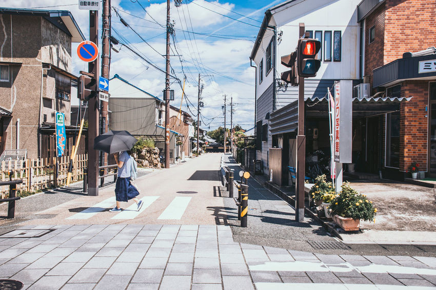 Hot summer noon in Inuyama, Japan Inuyama Japan Travel Trip Architecture Building Exterior Street Sunset Town 城下町 日本 犬山