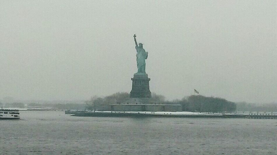 Statut De Liberté Statute Of Liberty New York ❤ New York City