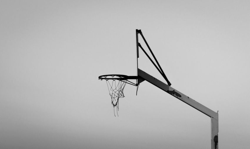 L O N E L Y Contrast 50mm Street Streetphotography Canon Canonphotography Italy Palermo Court Basketball Blackandwhite First Eyeem Photo