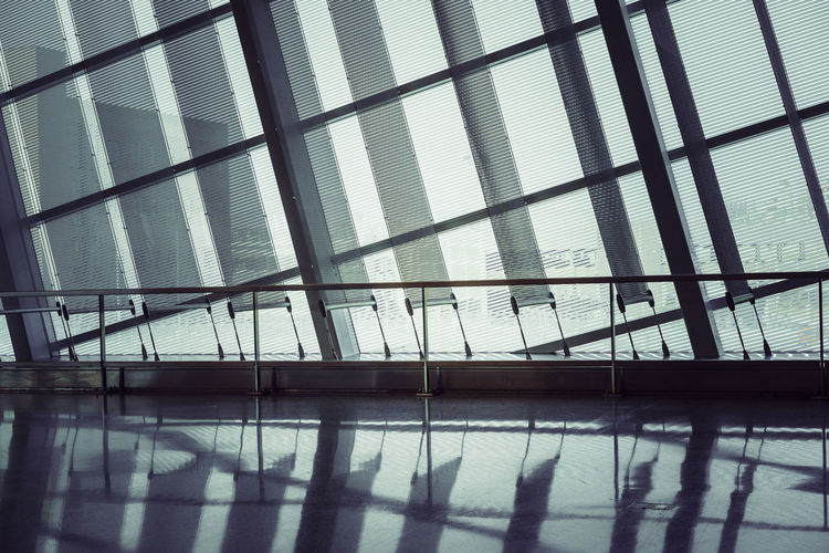 Airport designs Architecture Backgrounds Building Built Structure Ceiling Day Flooring Glass Glass - Material Indoors  Nature No People Pattern Reflection Shadow Sky Sunlight Swimming Pool Tiled Floor Transparent Window