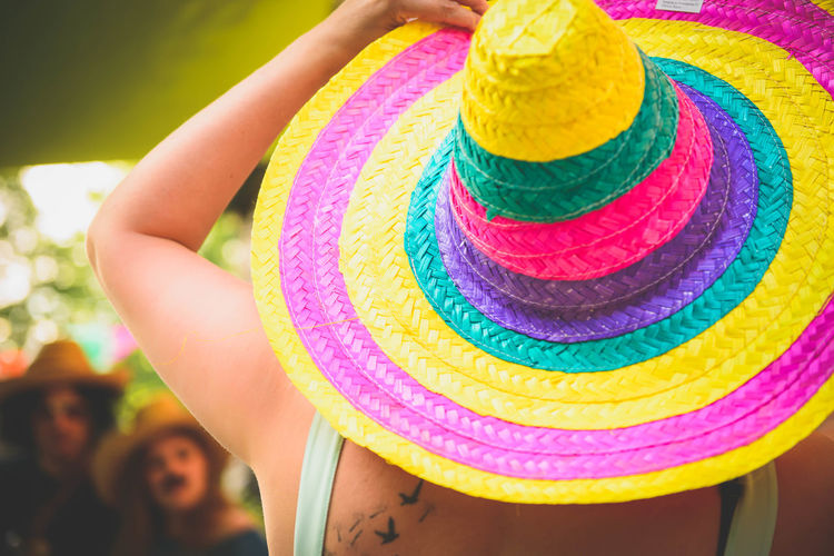 Close-up Colours Day Mexican Mexican Hat Multi Colored One Person Outdoors People Sombrero