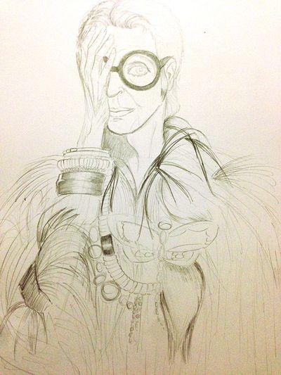 Drawing #hobby iris apffel