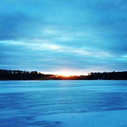 End of a beautiful day God gave us ice fishing on Lake Whipple. Icefishing GodIsGood Lakewhipple Mn Sunset #sun #clouds #skylovers #sky #nature #beautifulinnature #naturalbeauty Photography Landscape [a:8710186] Nature Ilovesunrisesandsunsets Relaxing Sunset Blue Wave