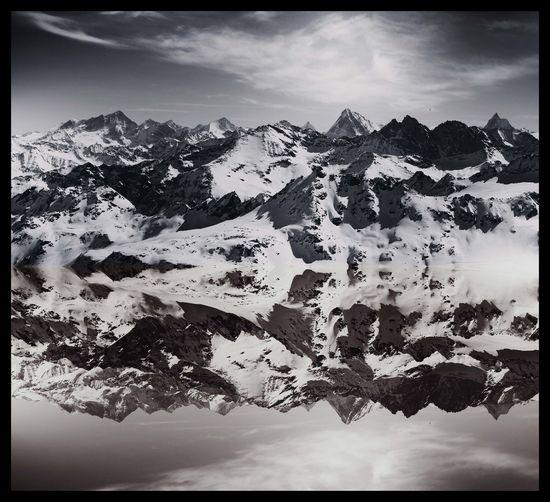 #alps #doubletap #landscape #nature #photography #mirror #montfort #Mountains #photography #Switzerland #verbier
