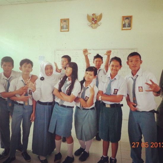 Myfriends Inschool Funn With friends School Uniform LoveFriends LoveIt EastBorneo Indonesia Friendly Friendship Follow