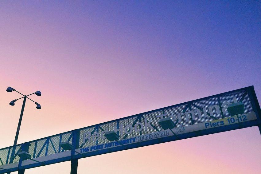 Port Authority Sunset