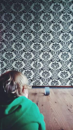 Roll the tape. Playing Having Fun Child Children