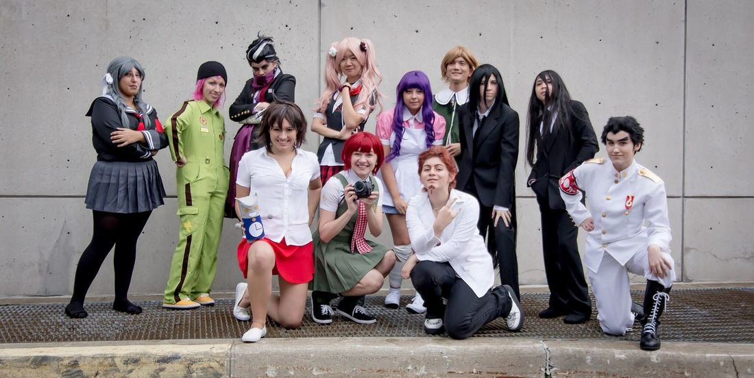 Cosplay Group NYCC NYCC New York Comicon Cosplay