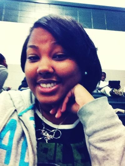 Flat Ironed My Hair In Barbering Class