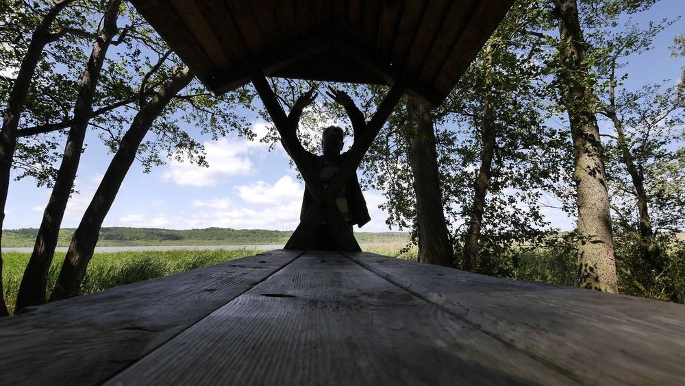 Selfie ✌ Lakeshore Sunny Day Walking Around Lake Lake View Thats Me  Faces Of EyeEm 😉😊😊✋ Selfportrait Naturelover Schmachter See Binz Auf Rügen EyeEm Best Shots EyeEm Best Edits