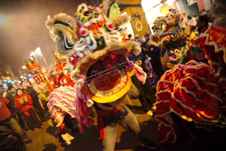 Philadelphians celebrate the Year of the Rooster with Chinese lion dances, fire crackers and more. Celebration China Town Phil Chinatown Chinese Dragon Chinese New Year Chinese New Year 2016 Chinese New Year 2017 Color Colorful Crowd Cultures Dancing Large Group Of People Light Night Photography Outdoors People People Watching Performance Performing Arts Event Philadelphia Traditional Festival