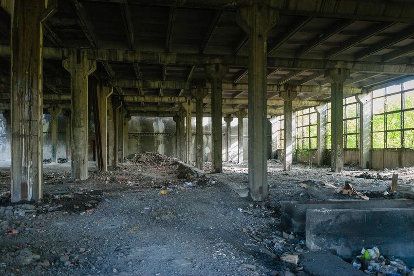 Abandoned Plant Industrial Decay Ashes Dust Novokuznetsk Kuzbass Siberia Russia