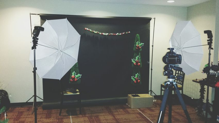 My company Holiday Party setup KiMartinez Photography Christmas 2014 Taking Photos