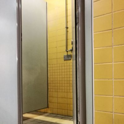 Door Yellow No People Indoors  Lock Shower Tiles Municipal Swimming Pool Graphic Composition Absract