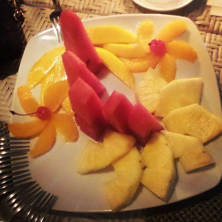 Zaia's fruit platter. Babyfood Bachichay Fruits Colorful