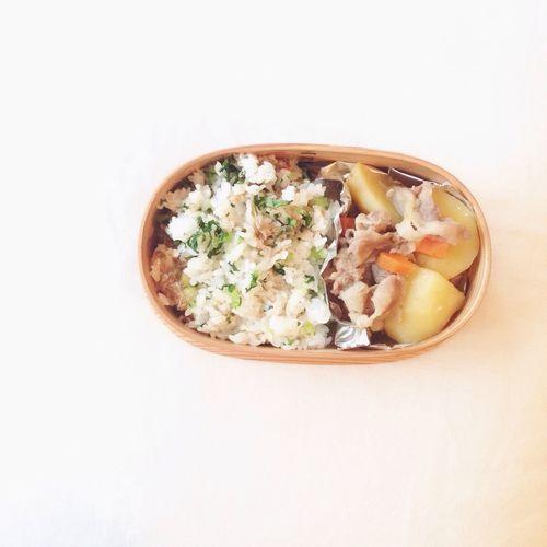 Good Morning おはようございます🌞 Foodphotography Lunch Box Bento Yum 菜飯 Enjoying Life