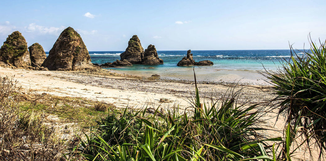 Photo taken in Japan, Okinawa Japan Okinawa Sea Water Beach Rock - Object Rock Formation