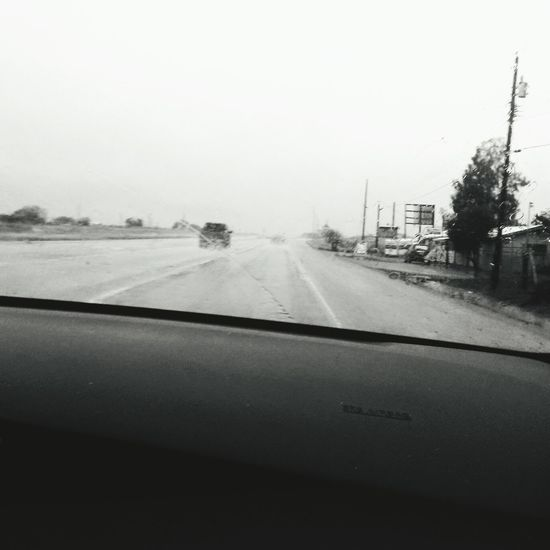 Weather Fog Transportation Car Road Cold Temperature Land Vehicle Day Outdoors Winter No People Nature Sky Water Outdoor Photography The Purist (no Edit, No Filter) EyeEm Best Shots Smartphonephotography RainyDay Freshness Backgrounds High Angle View Blurred Motion Black And White Photography