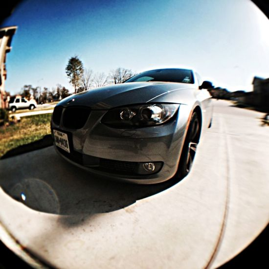 IPhone 5S Fish Eye Bmw335i