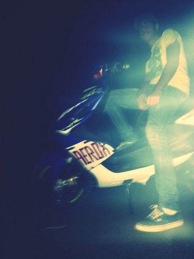 Enjoying Life That's Me Motorbike Hi!