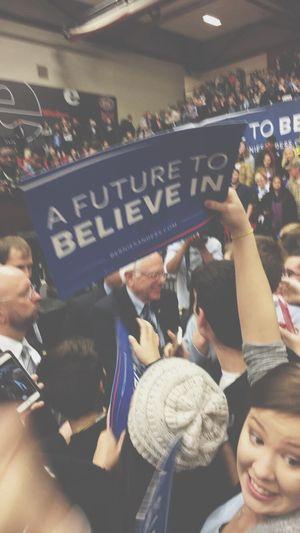 """""""A future to believe in."""" Bernie2016 Feelthebern"""