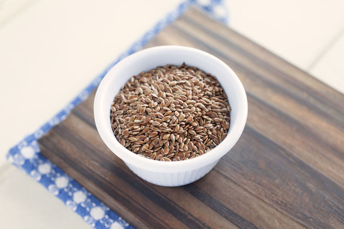 Flaxseeds Bowl! Bowl Close-up Day Flax Flax Seeds Flaxseed Flaxseeds Food Food And Drink Freshness Healthy Eating High Angle View Indoors  No People Seeds Still Life Studio Shot Table Wood - Material