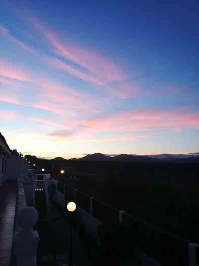 Sunset Sky Gate