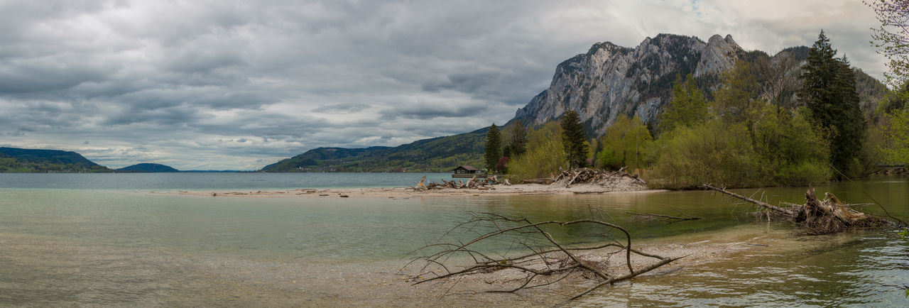 Attersee Attersee Austria Blue Water Clear Water EyeEm Best Shots Eyeem Panorama Lakeshore Landscape_Collection Panoramic Photography The Great Outdoors With Adobe The Great Outdoors - 2016 EyeEm Awards Betterlandscapes