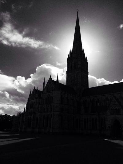 Sarisbury Cathedral Sarisbury Cathedral Cathedral Sillouette Church