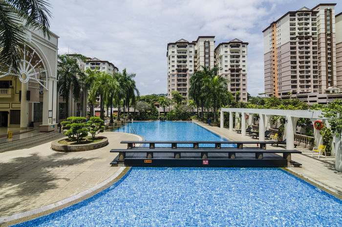 Architectural Buildings Built Structure Day Exterior Hotel Outdoors Resort Swimming Pool Water