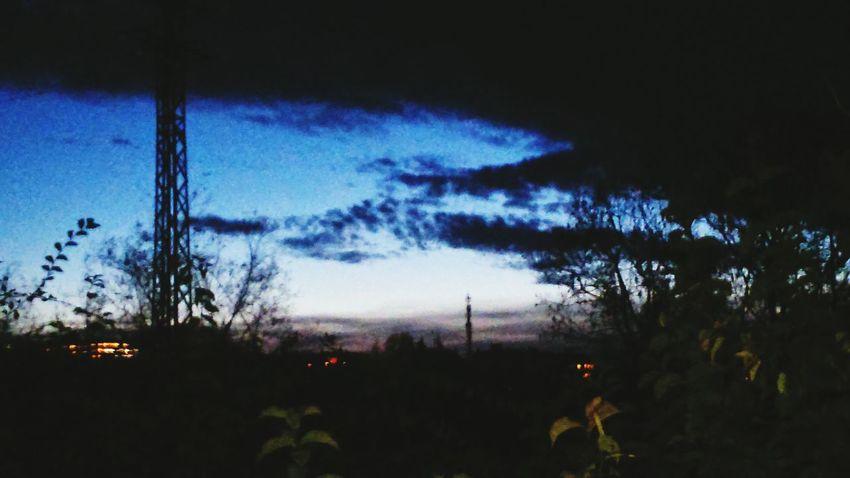 Monte Nature Anocheciendo Cielos