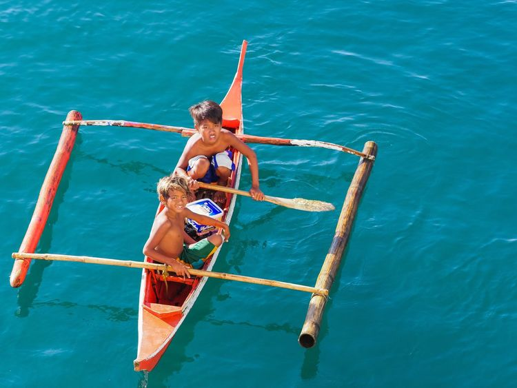 Kids of Sea- Batangas, Philippines Real People Lifestyles Full Length Water Nautical Vessel Day Young Adult Kids Sea Philippines EyeemPhilippines Coin Divers Vacation2017 Journalism Boat Em-1 Mk2
