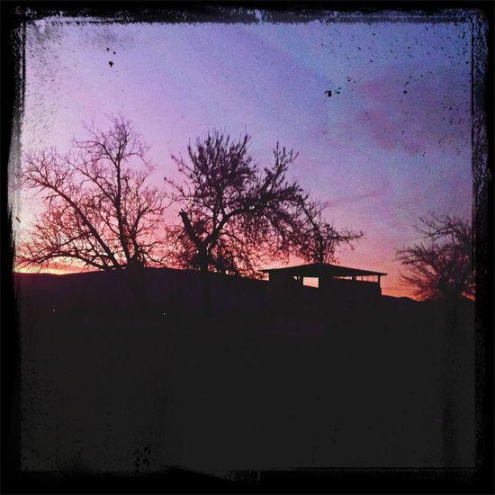 Darkness And Light Sunset ?