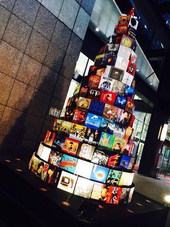 唱片聖誕樹🎄