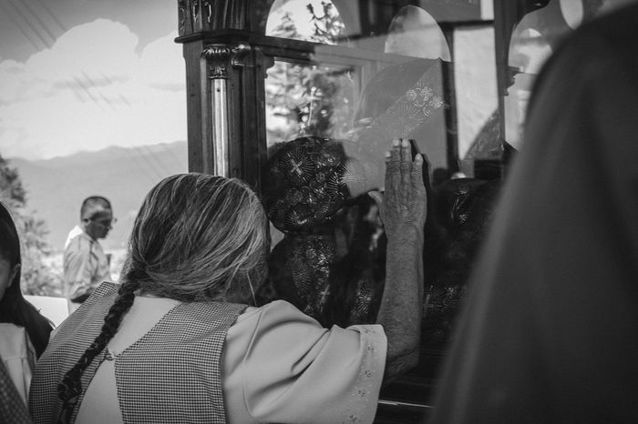 Captured Moment MiercolesDeCeniza Peoplephotography Emotions Blackandwhite a granny praying to the Lord of sacromonte.