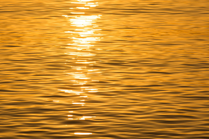 Sunset water texture Happiness Holiday Mediterranean  Water Reflections Backgrounds Beauty In Nature Full Frame High Angle View Motion Nature No People Orange Color Outdoors Purity Reflection Rippled Seaside Sunlight Sunset Sunshine Tranquility Vacances Water Waterfront Yellow Capture Tomorrow