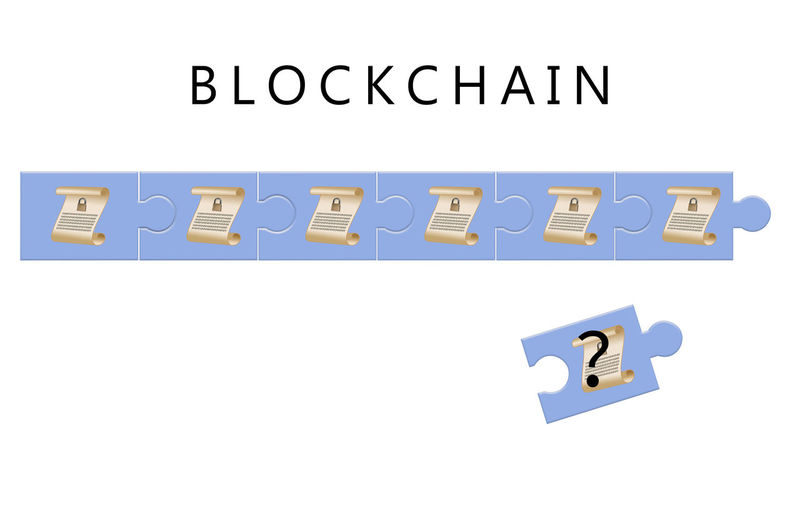 Schematic of blockchain database architecture used in bitcoin and similar cyber currencies Bitcoin Block Chain Blockchain Blockchain Technology Diagram Drawing Explanation Illustration No People Schematic Technology