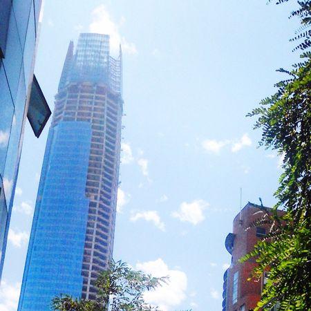 Costanera Center Buildings Chile costanera antes de ser terminado ??