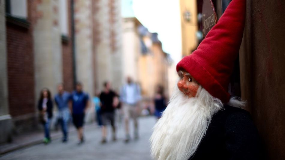 Smiling elf Stockholm, Sweden Streetphoto_color Streetphotography Stockholm Street Photo Old City Stockholm Stockholm Gamlastan Gamla Stan Shallow Depth Of Field Streetphoto Streets Elf Smiling Just Because Adapted To The City