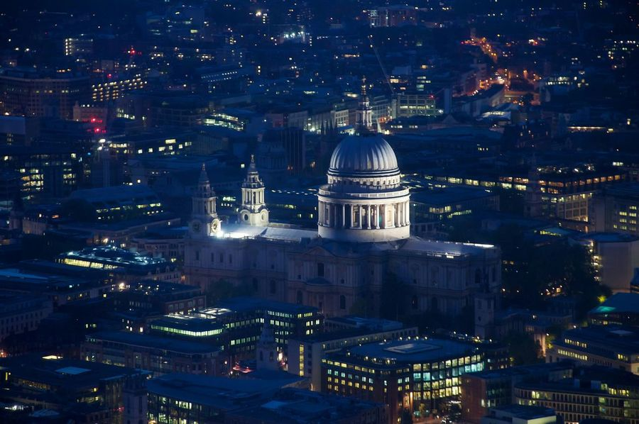 Aerial Shot St Paul's Cathedral London View From The Shard The Shard Seeing The Sights