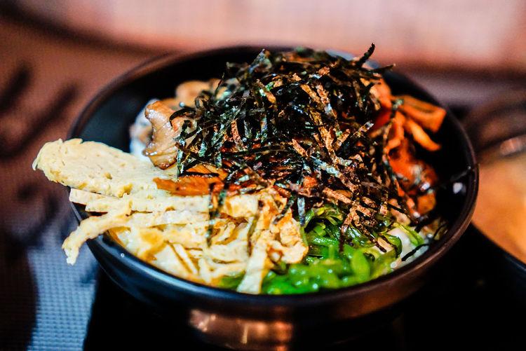Food Eat Dinner Rice Seaweed Helthyfood Asian Food Stir-fried Chinese Takeout Sashimi  Shrimp - Seafood Chinese Food Chinese Dumpling