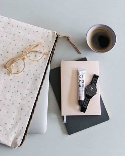 Work Work Desk Flatlay Workscene Little Break Planning Day Still Life Photography StillLifePhotography Still Life Lifestyle Photography Glasses Calender Coffee Time Prop Styling High Angle View