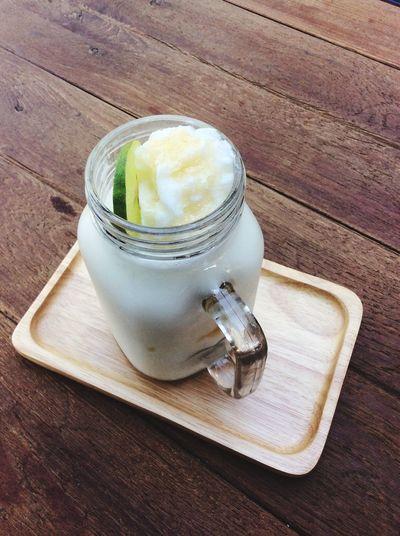 Lemon Yogurt smoothie