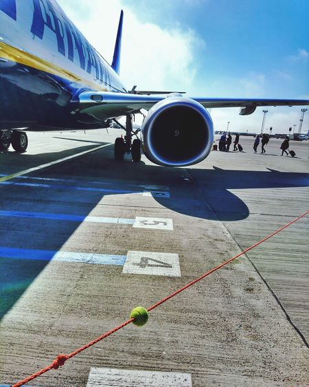 Airplane Airport Transportation Air Vehicle Travel Rayanair Partenza Involo Si Viaggiare Volare Si Parteeee Photo Phototravel Travel Viaggi Girovagando Photooftheday