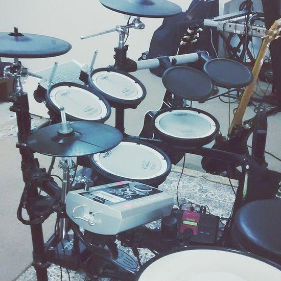 Kit Elétrico Roland Vdrums Yamaha Drums